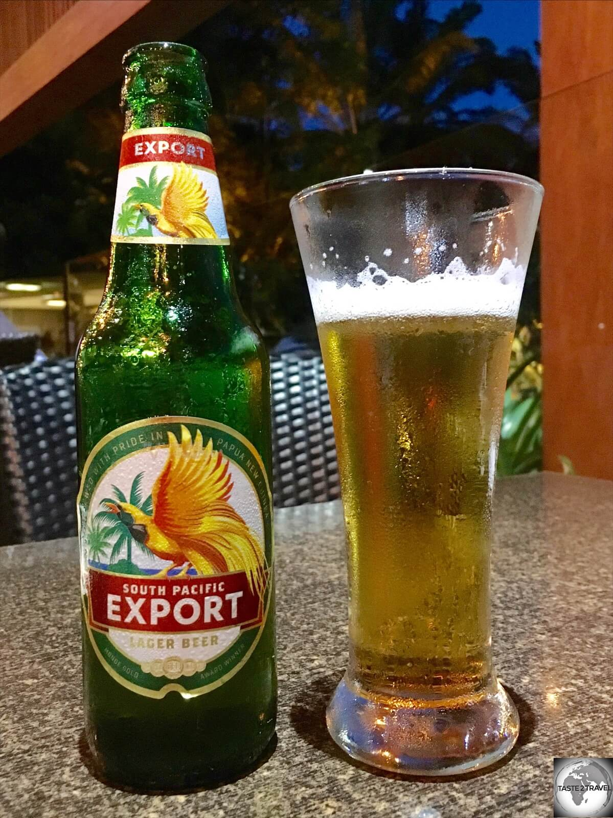 'SP Export' was my preferred beer in PNG, being a little smoother in taste than SP Lager.