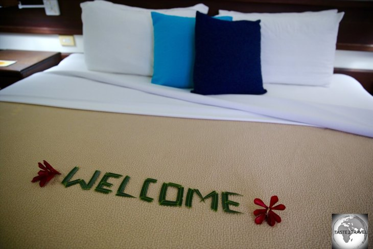 The wonderful Madang resort ensured my stay in Madang was truly memorable.