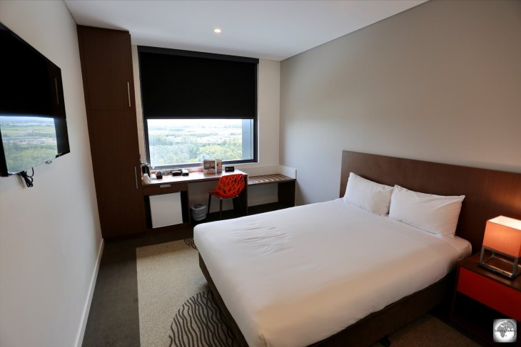 The Brisbane Airport Ibis hotel offers great rates and an unbeatable location directly opposite the international terminal, a short walk from your Nauru Airlines flight.
