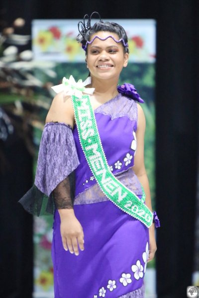 Miss Menen, My-Gem Tatum, represented the district of Meneng, which is home to the Hotel Menen.