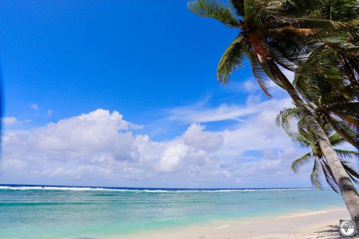 A view of beautiful Ewa beach.