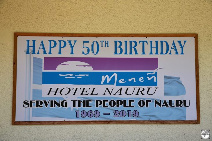 The Government-owned Menen Hotel celebrated its 50th anniversary in 2019.