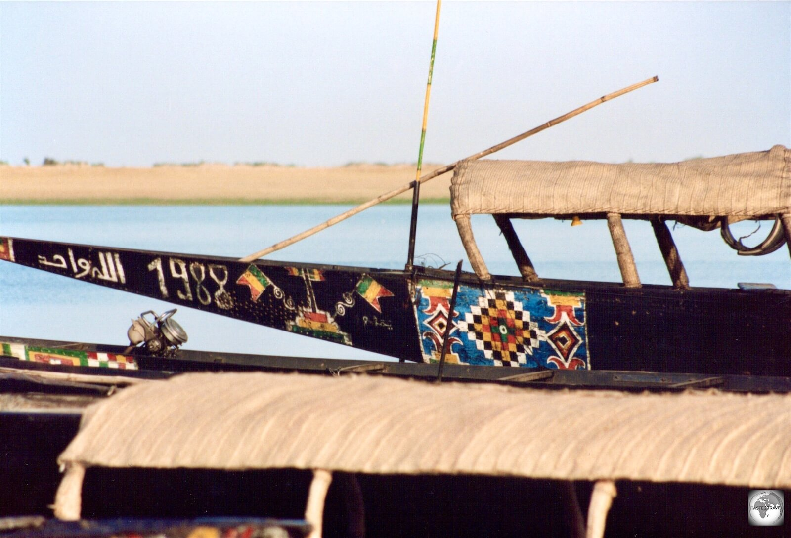 Pinasses, on the river Niger, in the town of Diré.