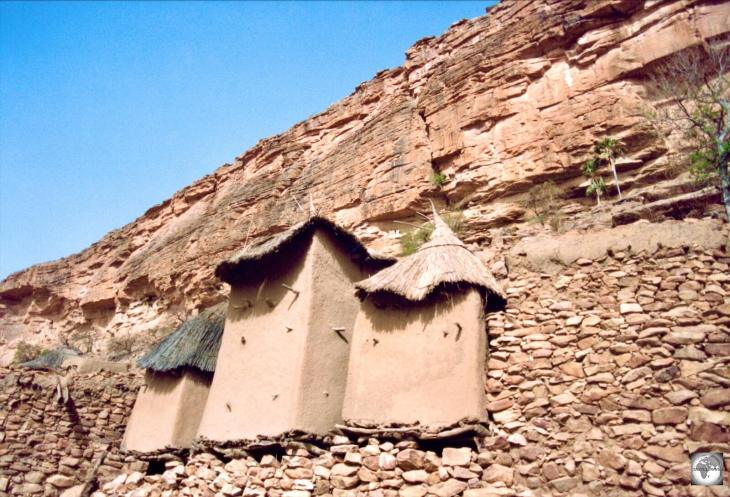 Granaries in the Dogon Country