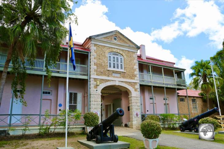 The Barbados Museum and Historical Society In Bridgetown.