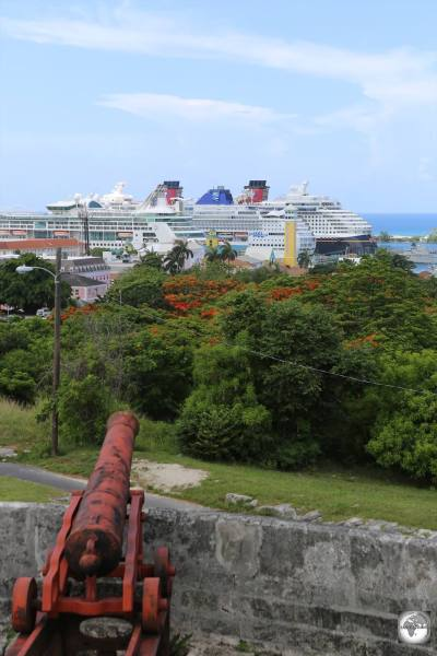 A view of Nassau from Fort Fincastle.