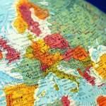 Europe Travel Quiz: Globe Showing Europe