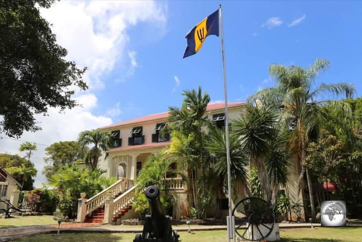 The historic Sunbury Plantation House, Barbados.