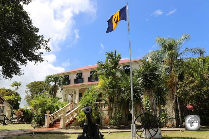 The historic Sunbury Plantation House, Barbados.