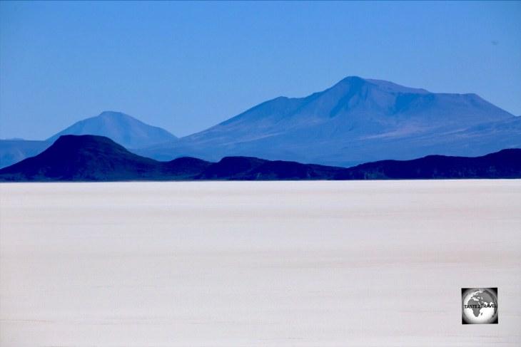 A far-away-land, the Salar de Uyuni in Bolivia, the World's largest salt plain.