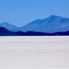 A far-away-land, the Salar de Uyuni in Bolivia, the World's largest salt plain.