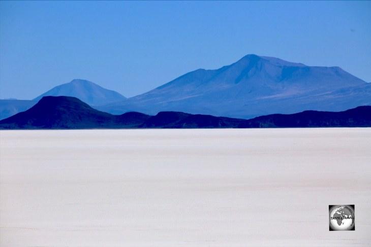A far-away-land, the Salar de Uyuni in Bolivia is the World's largest salt plain.