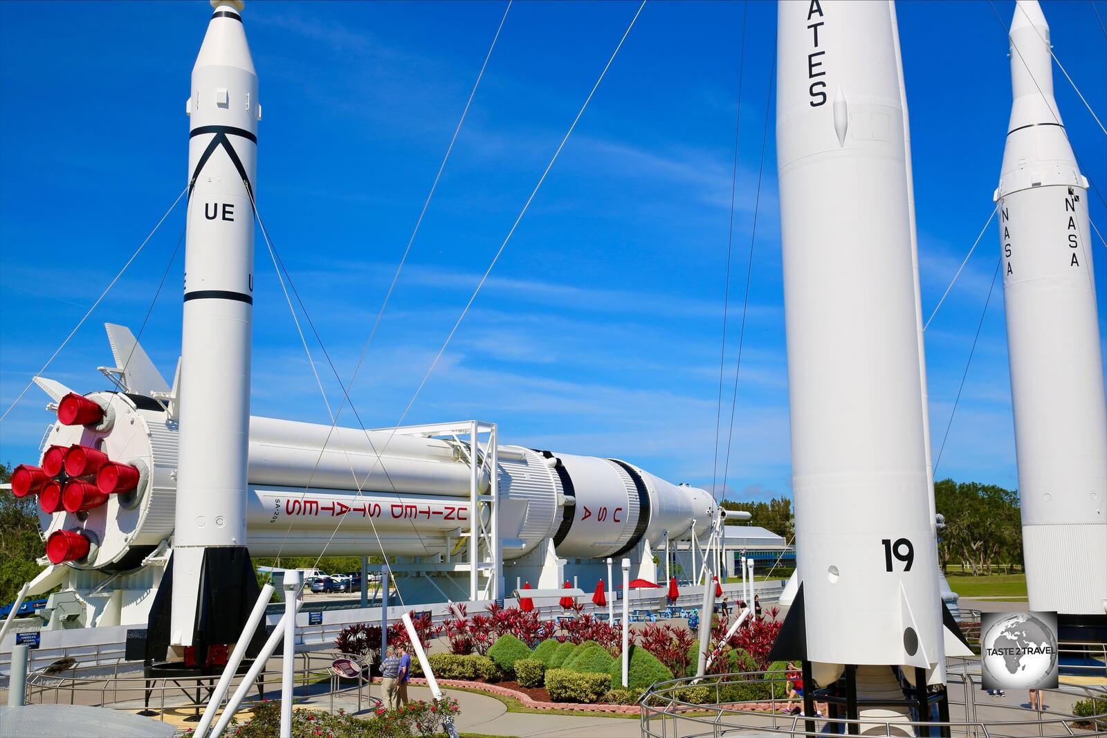 Rocket Garden Kennedy Space Centre