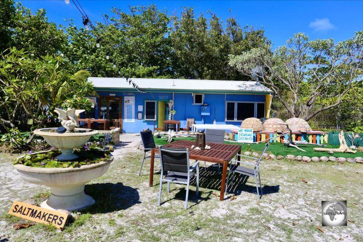 Saltmakers Restaurant, West Island, Cocos (Keeling) Islands.