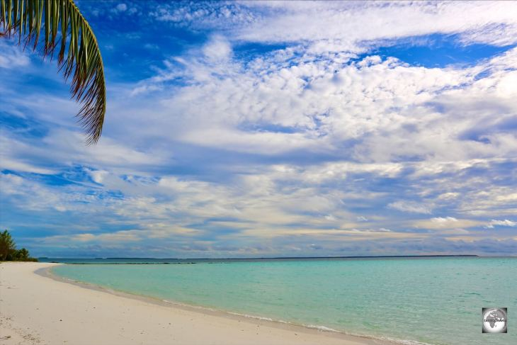 Offering a wide sweep of sand, Sandy Point is the most beautiful beach on Home Island