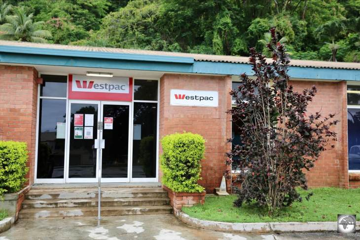 The Westpac bank branch on Christmas Island.