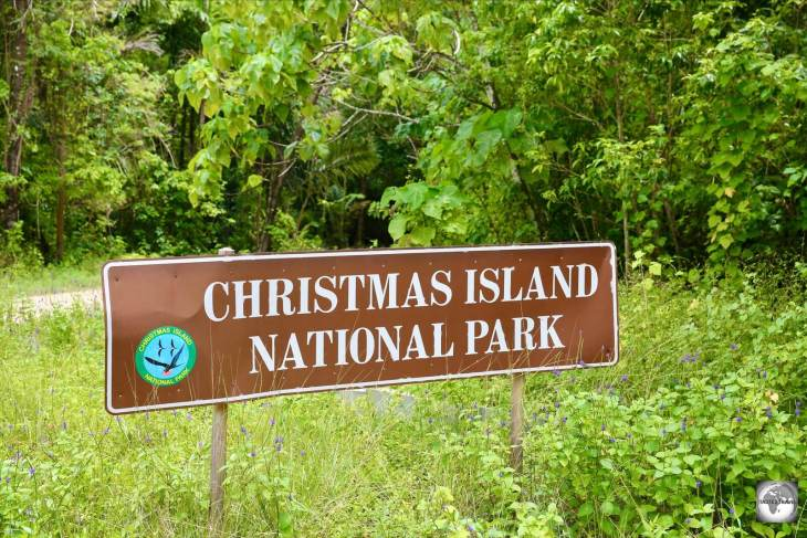The Christmas Island National Park occupies most of Christmas Island.