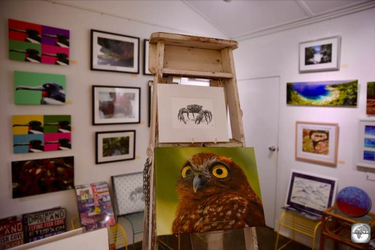 Wild Papaya sells a range of locally produced crafts and photography.