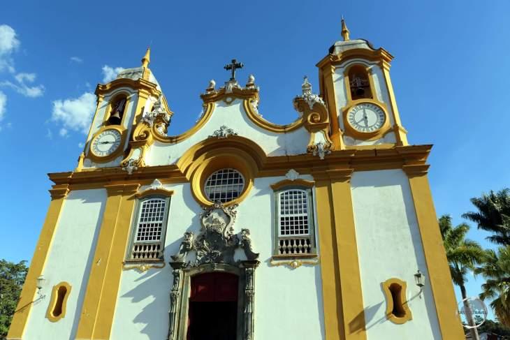 Completed in 1710, Matriz de Santo Antonio church in Tiradentes was the earliest of the major Minas Gerais Baroque churches.