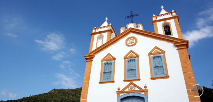 Located on Florianópolis, the Church of Our Lady of Lapa was inspired by typically Azorean architecture.