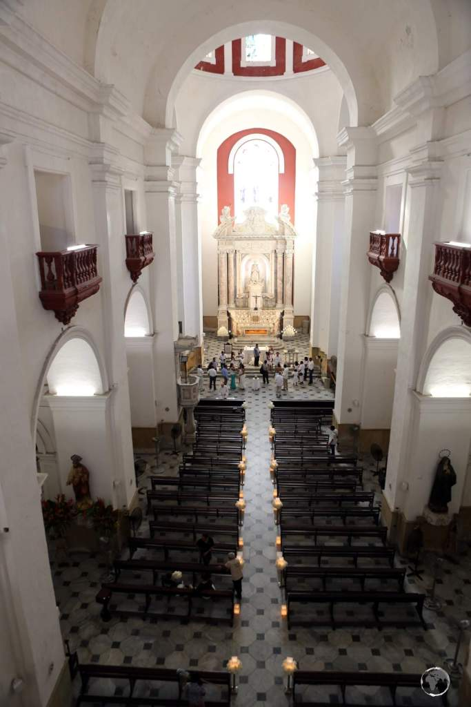 Located in Cartagena old town, the Iglesia de San Pedro Claver was built between 1580 and 1654, in Spanish Colonial style.