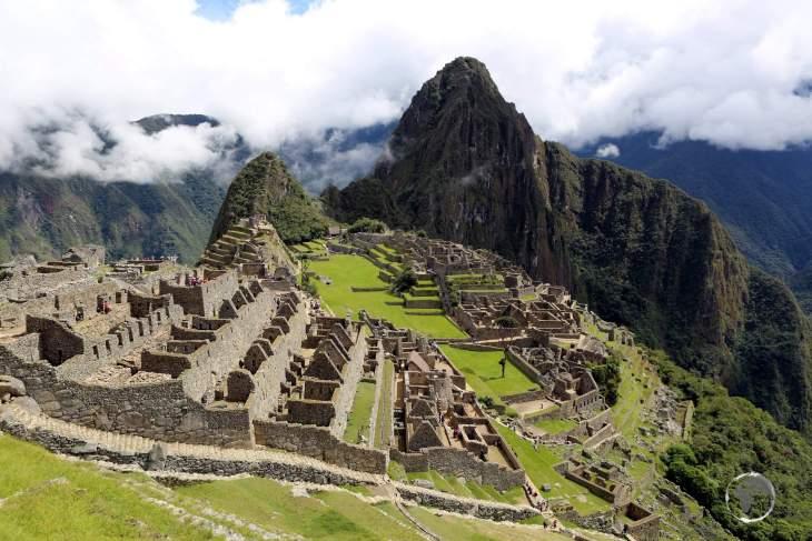 A triumph of the Inca empire, Machu Picchu is a 15th-century citadel, located in the Eastern Cordillera of southern Peru, on a 2,430-metre (7,970 ft) mountain ridge.