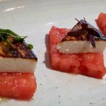 Watermelon with Cheese on Food Tour