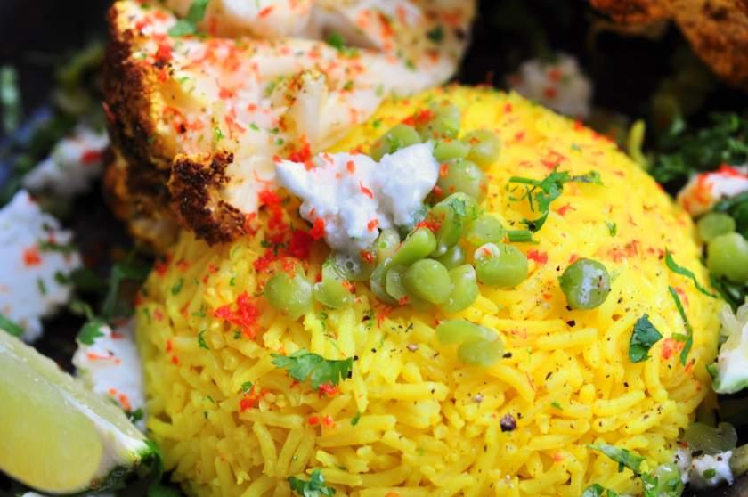 Vego_på_30_minuter_Cauliflower_with_tandoori_and_lentil_rice_4