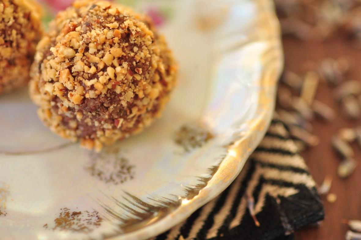 Chokladbark med lavendel och ringblomma