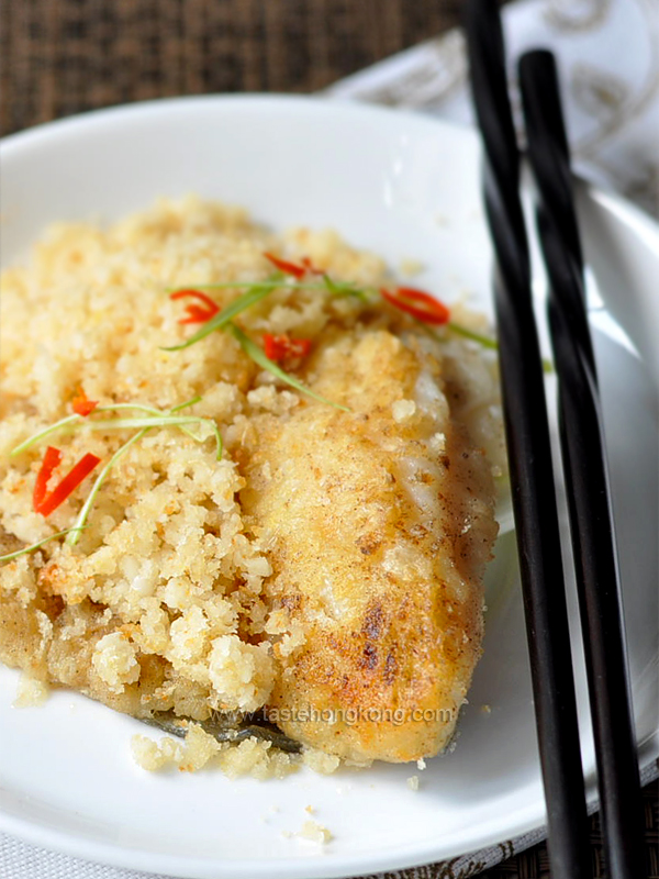 Fish Fillet with Soybean Crumbs 豆酥魚