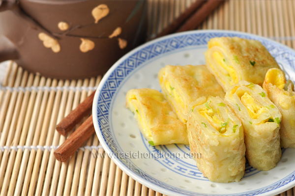 Egg Pancake Rolls, Chinese and Taiwanese Street Food
