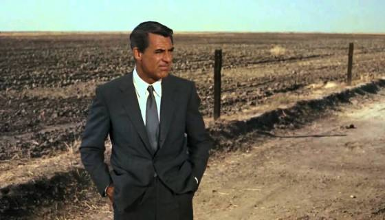 The crop duster sequence in North by Northwest