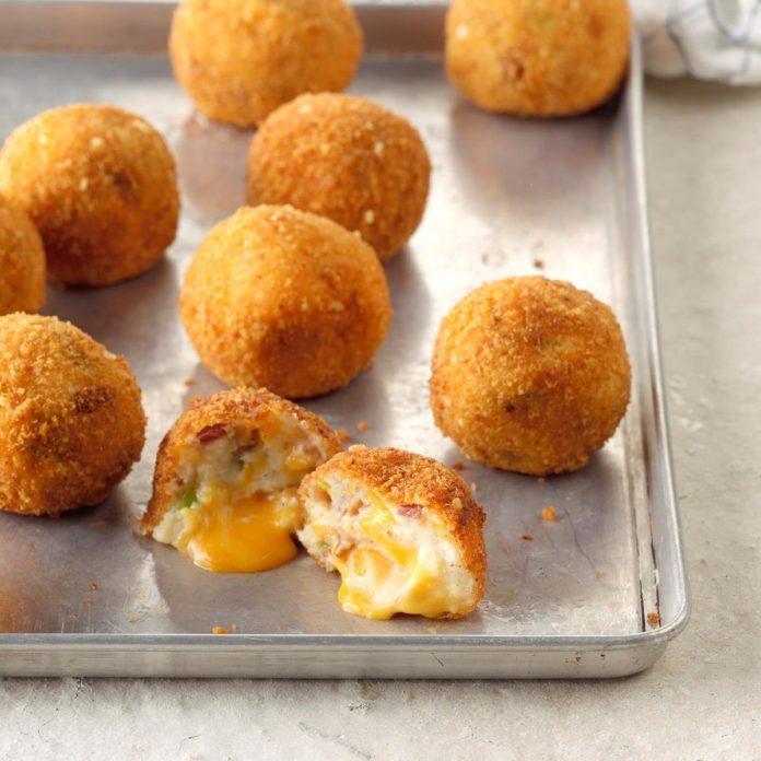 Loaded Mashed Potato Bites