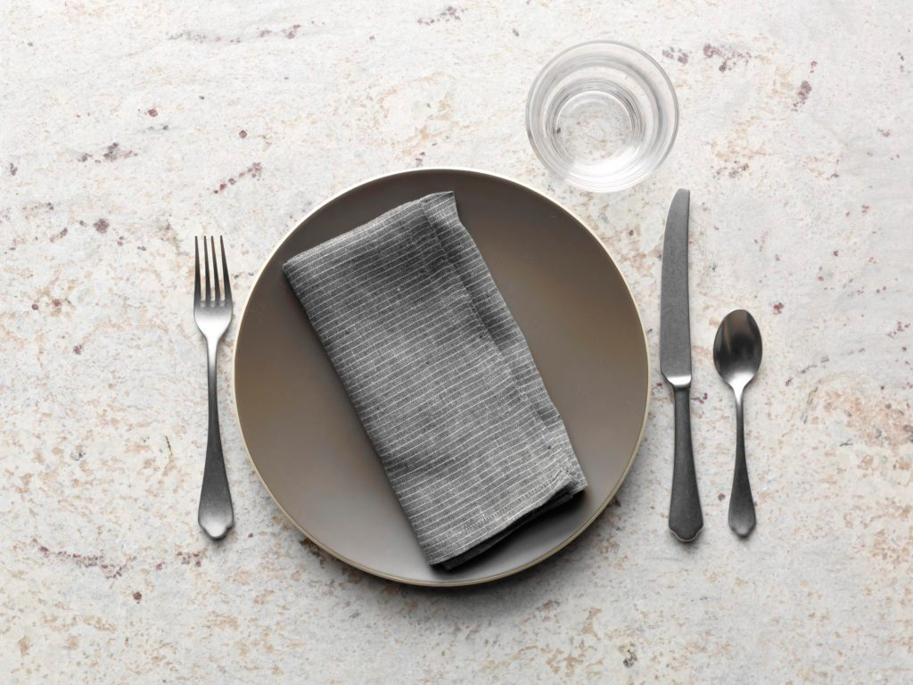 hight resolution of basic table setting