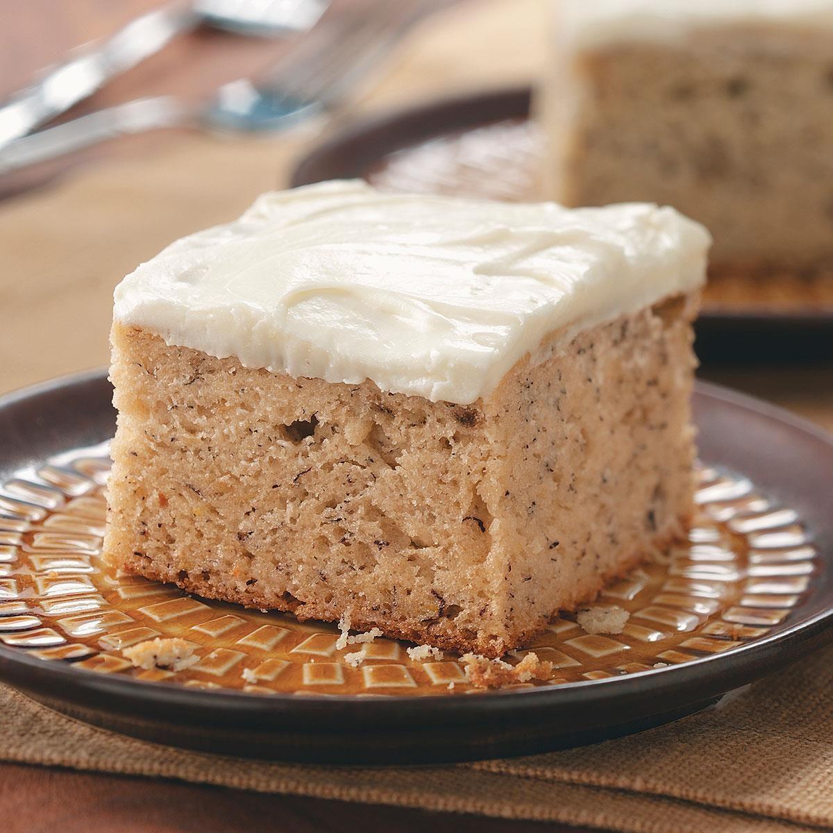 Banana Cake Cream Cheese Recipe