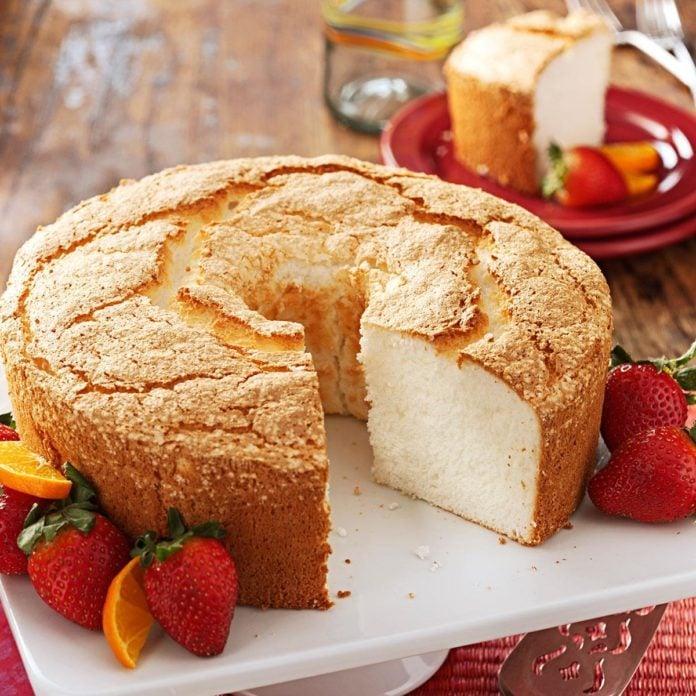 Best Angel Food Cake Recipe Taste Of Home