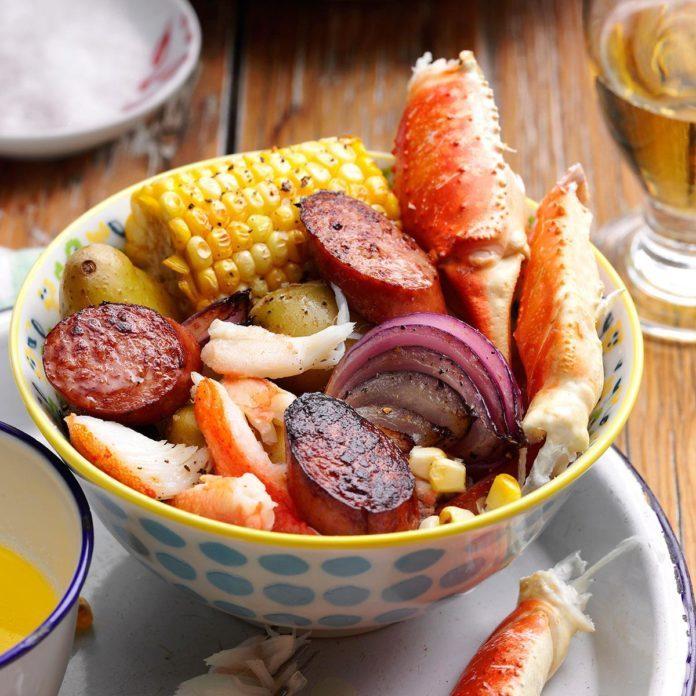 Carolina Crab Boil Recipe  Taste of Home