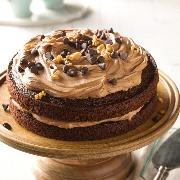 Chocolate Carrot Cake Recipe Taste Of Home