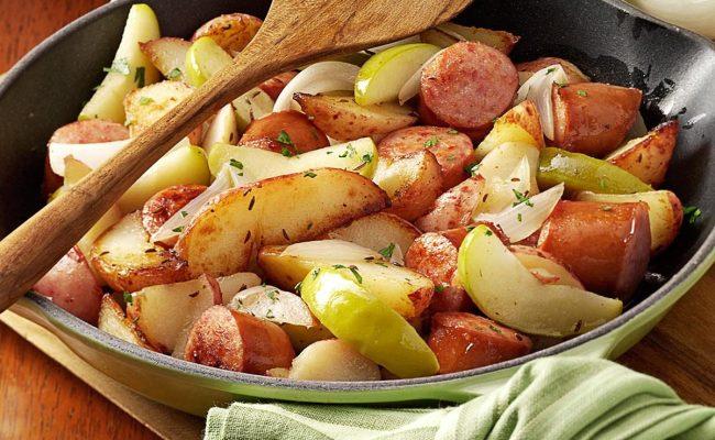 Sausage Skillet Dinner Recipe Taste Of Home