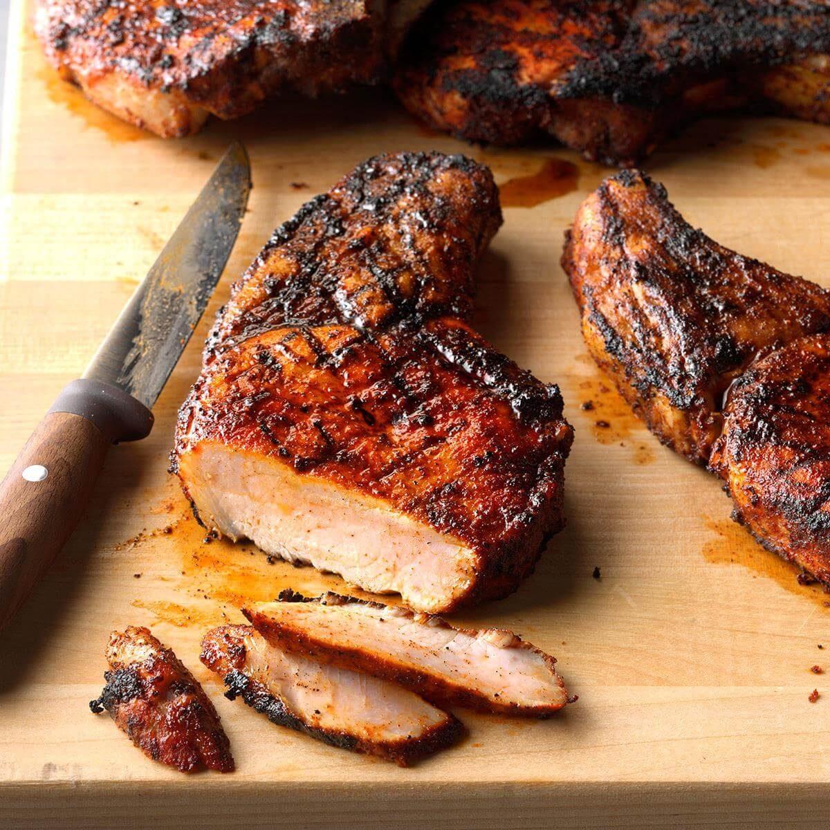 Ultimate Grilled Pork Chops Recipe  Taste of Home