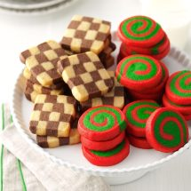 Pinwheels And Checkerboards Recipe Taste Of Home