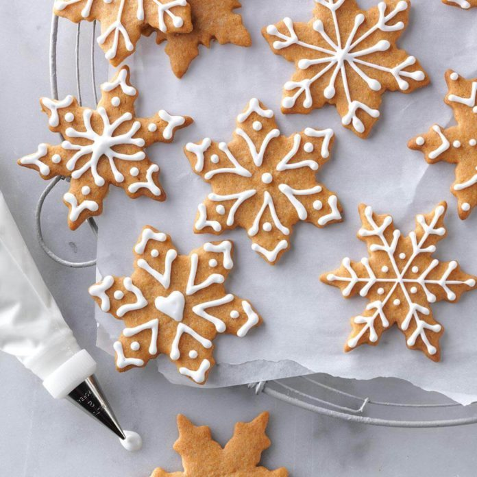 Butterscotch Gingerbread Cookies Recipe Taste Of Home
