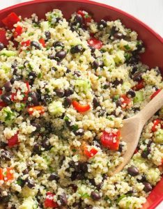 Quinoa tabbouleh also yummy isagenix friendly snack ideas taste of home rh tasteofhome