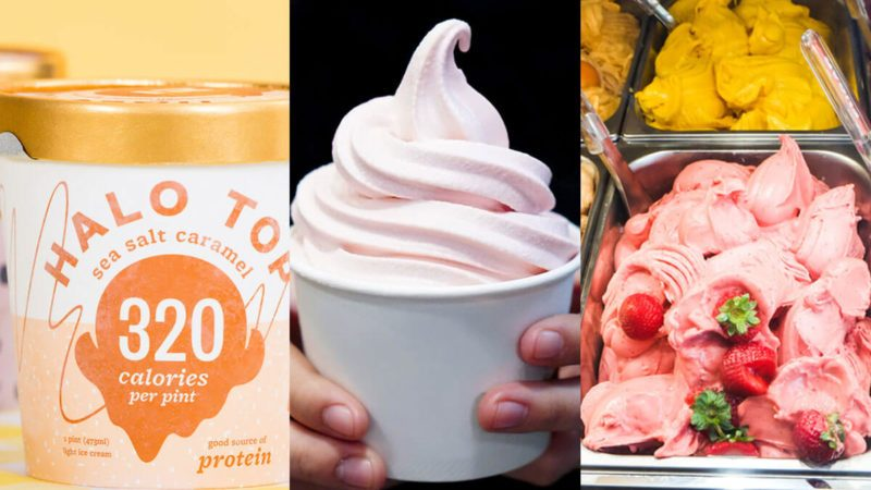 Frozen Yogurt Gelato Or Low Fat Ice Cream Which Is The Healthiest