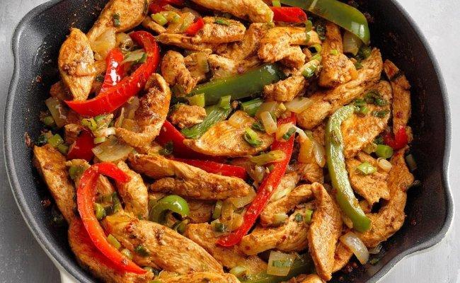 Flavorful Chicken Fajitas Recipe Taste Of Home