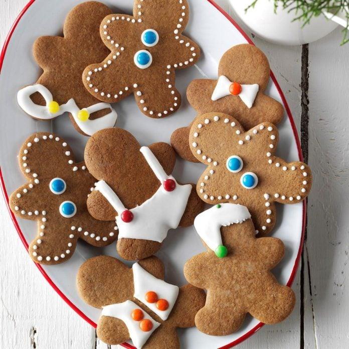 Gingerbread Men Cookies Recipe Taste Of Home