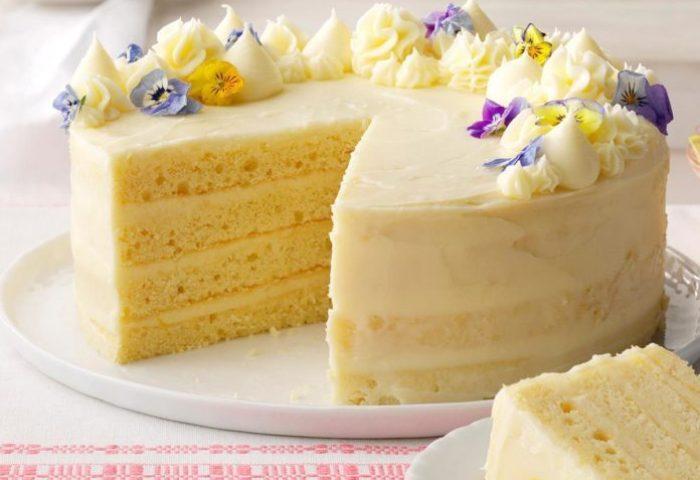 Lemon Layer Cake Recipe Taste Of Home