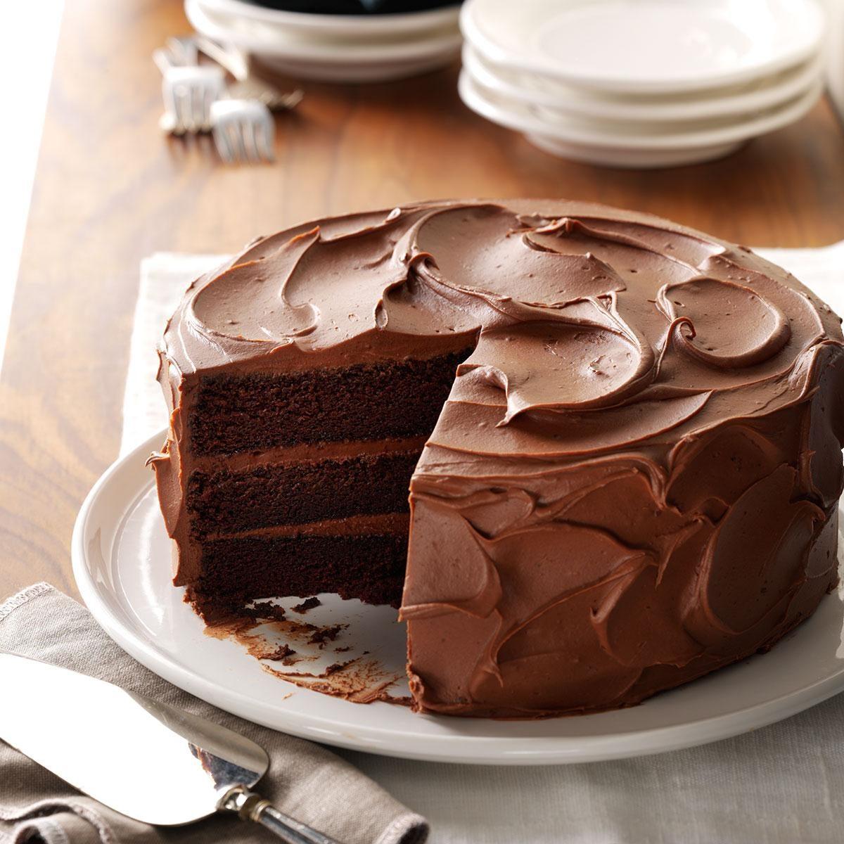 Sandys Chocolate Cake Recipe Taste Of Home