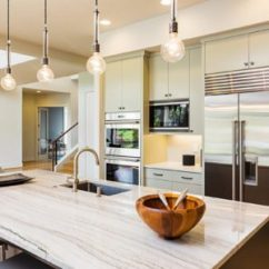Cheap Kitchens Fun Kitchen Gadgets 10 Upgrades To Make Your Look More Expensive Interior With Island Sink Cabinets Stainless Steel Refrigerator Pendant Lights