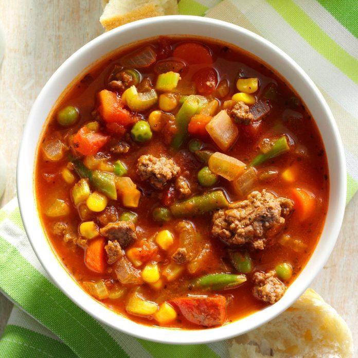 Spicy Beef Vegetable Stew Recipe  Taste of Home